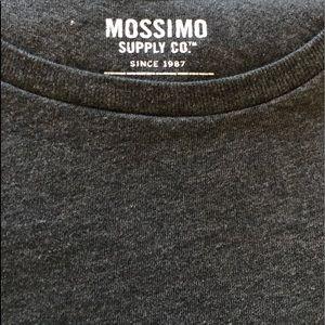 🔺4/$20 Mossimo Men's XL Black/dark gray T-shirt